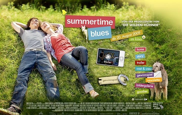 Summertime Blues Website Stefie Plendl