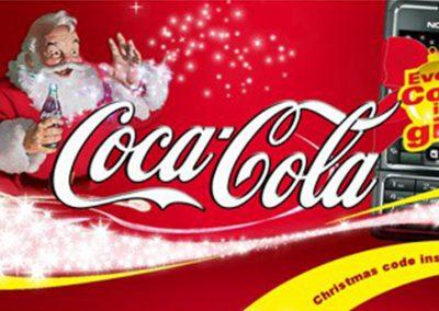 Coke X-MAS PRINTWERBUNG