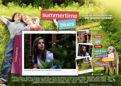SUMMERTIME BLUES WEBSITE